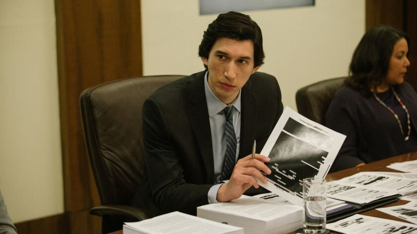 Adam Driver appears in <i>The Report</i> by Scott Z. Burns, an official selection of the Premieres p