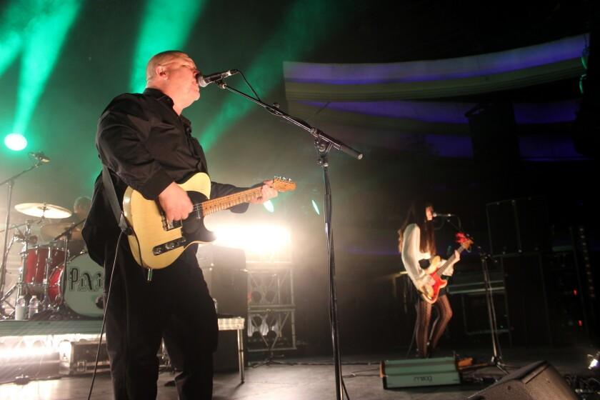 Durante el show del Hollywood Palladium, Pixies demostró que se trata de una de las bandas más trascendentes del rock alternativo.
