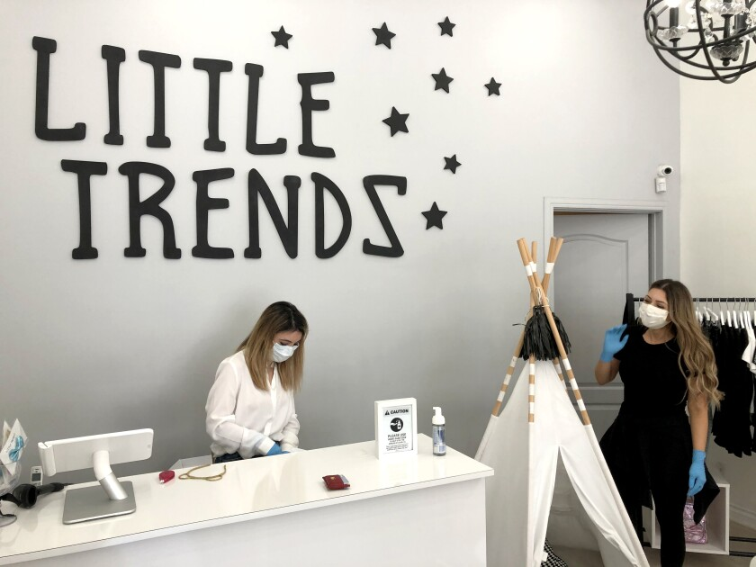 Little Trendz children's clothing store