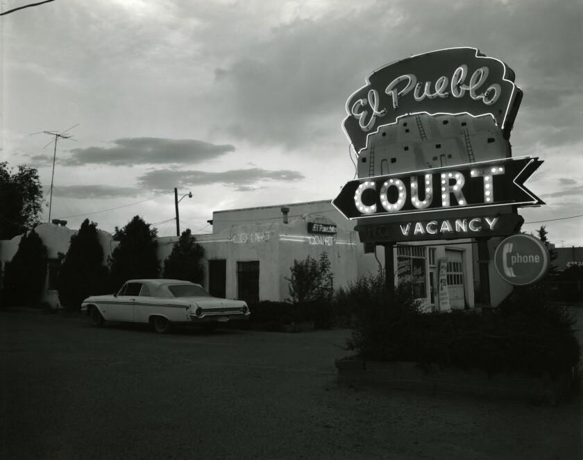 'Route 66 Motels' by John Schott