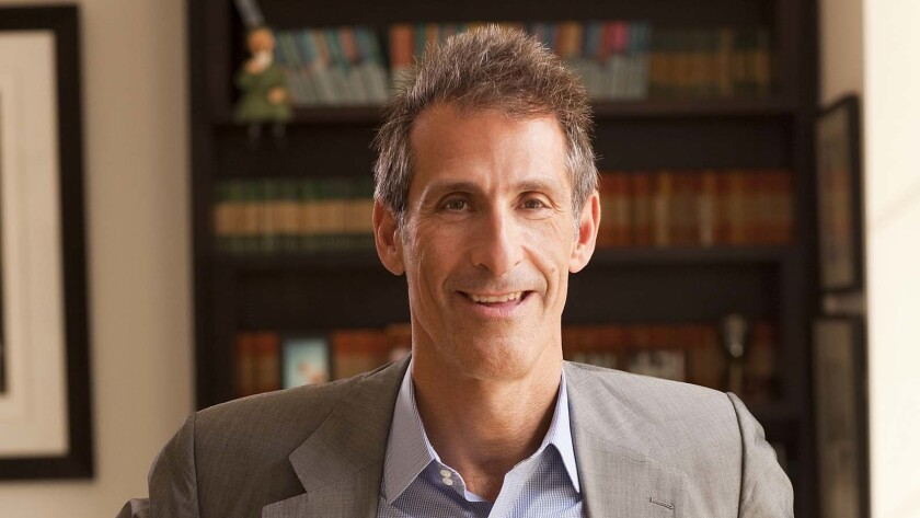 Michael Lynton, Co-Chairman, Sony Pictures Entertainment, photographed in his office at Sony studios, Culver City, Ca 10/08/10