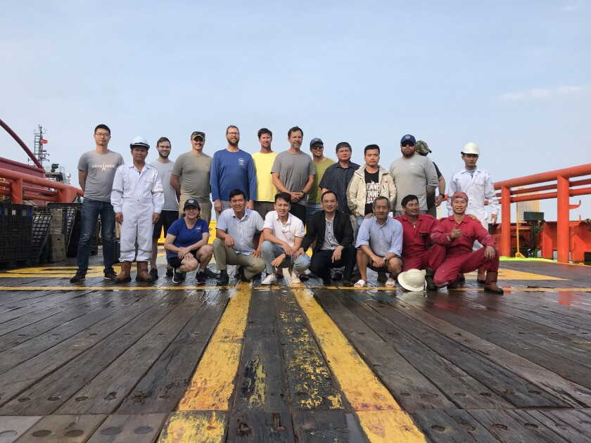The Project Recover team, including researchers from UC San Diego's Scripps Institution of Oceanography