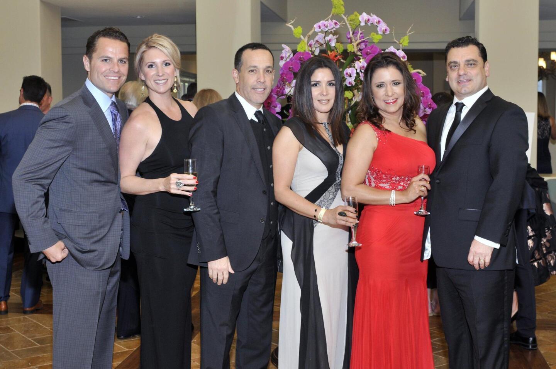 Chris and Rachel Purcell, Ted and Monica Fogliani, Franco and Deborah Simone