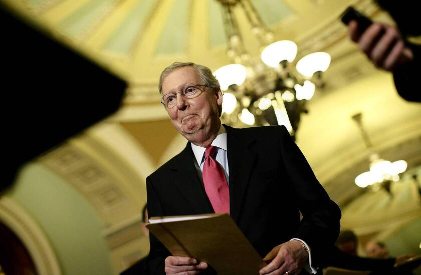 Senate Minority Leader Mitch McConnell, in response to the IRS' disclosure that it had improperly focused on conservative groups applying for nonprofit status, has called for a government-wide review to ensure such practices were not underway elsewhere.