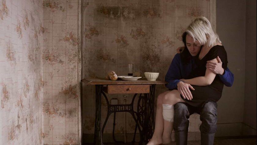 "Luc Chessel and Séverine Jonckeere in the movie ""Milla."""