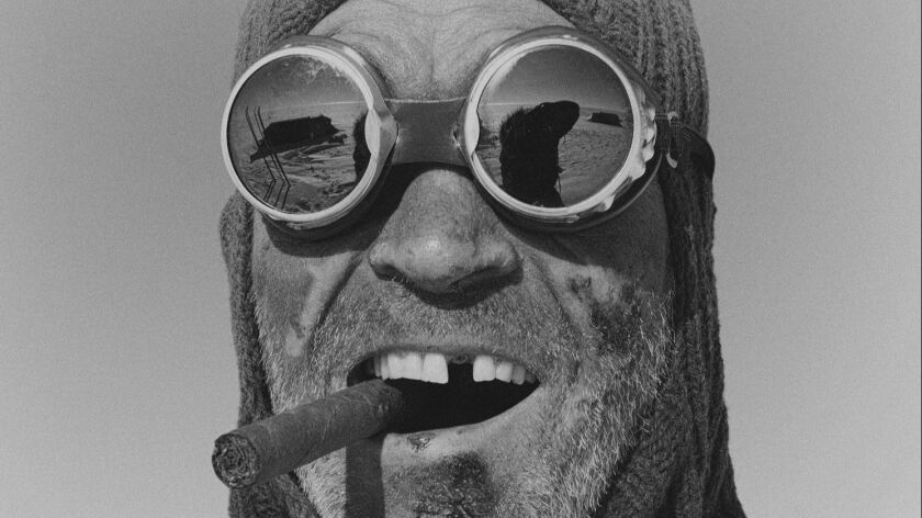 """Henry Worsley in Antarctica from the book """"The White Darkness"""" by David Grann. credit Sebastian Co"""