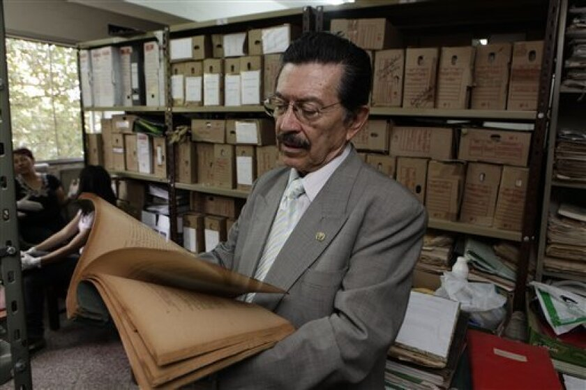 Paraguay unveils archives from dictatorship - The San Diego Union-Tribune