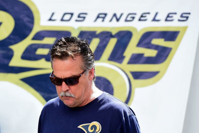 Jeff Fisher... fuera de los Rams.