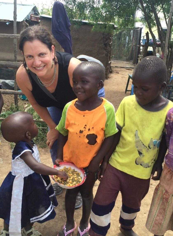 World Neighbors CEO Kate Schecter in Arcahaie, Haiti.