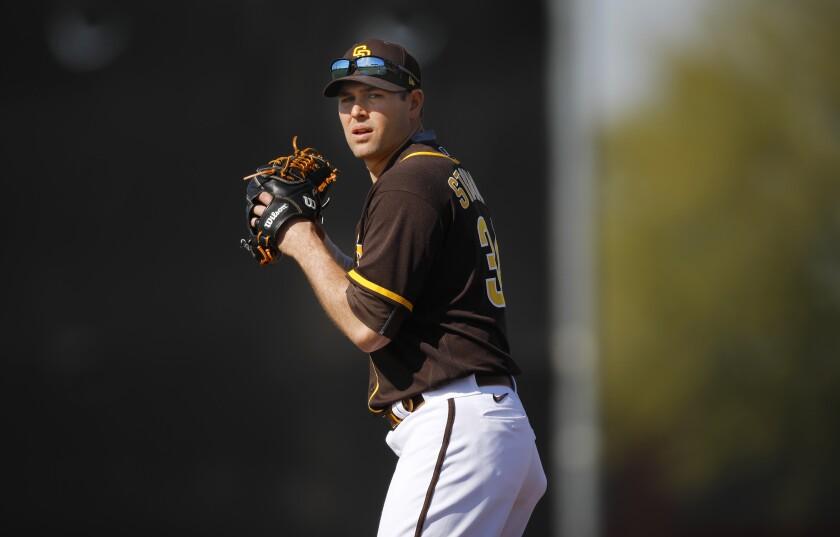 Padres pitcher Craig Stammen