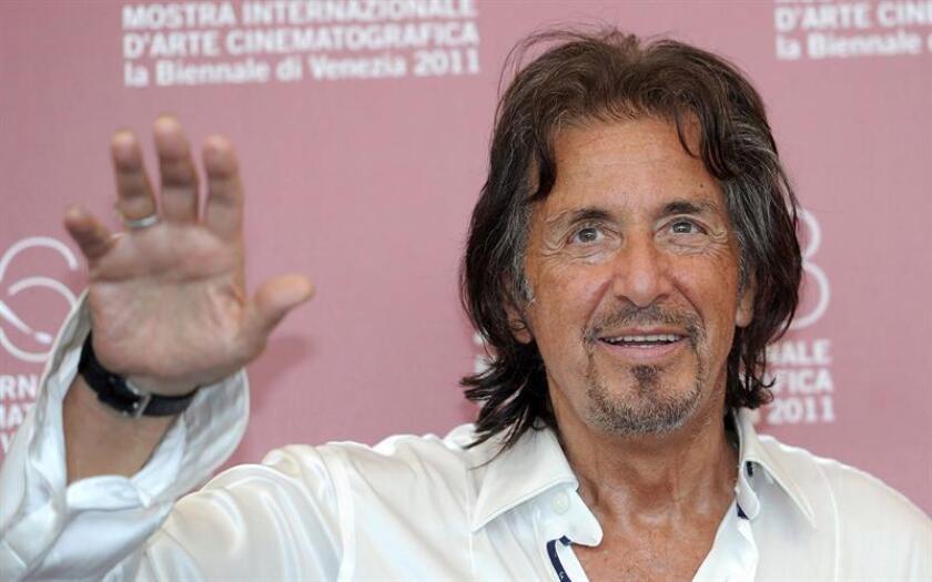 """Al Pacino se pondrá por primera vez en su carrera a las órdenes del cineasta Quentin Tarantino en la cinta """"Once Upon a Time in Hollywood"""", informó hoy el medio especializado Variety. EFE/Archivo"""