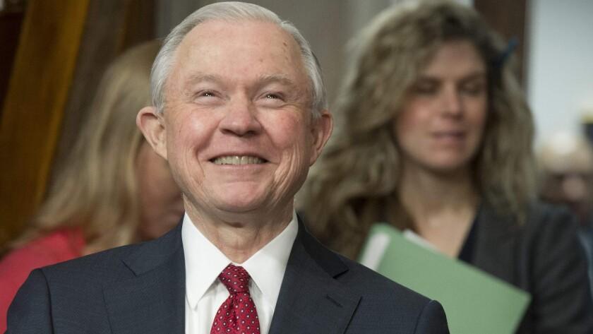 Former U.S. Atty. Gen. Jeff Sessions