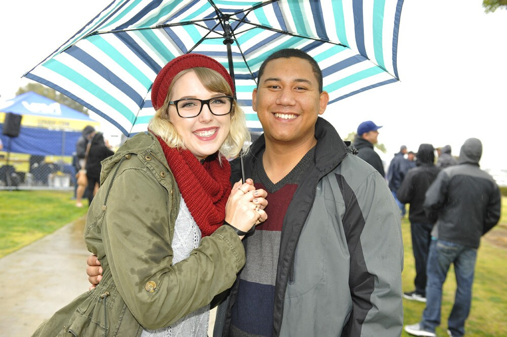 San Diegans kept it classy despite the rain at the Best Coast Beer Fest at Embarcadero Park South on Saturday, March 10, 2018.