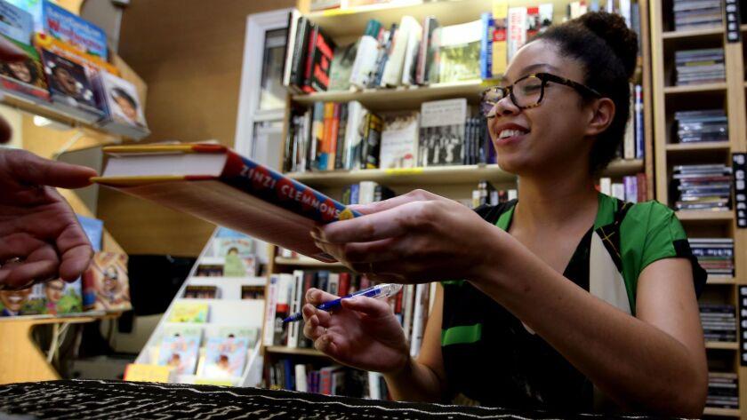 Zinzi Clemmons at Eso Won Books
