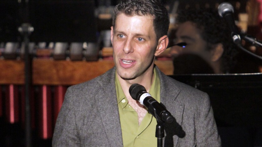 Yuval Sharon of experimental opera company the Industry, seen in 2013, will begin a three-year residency as artist-collaborator with the Los Angeles Philharmonic.