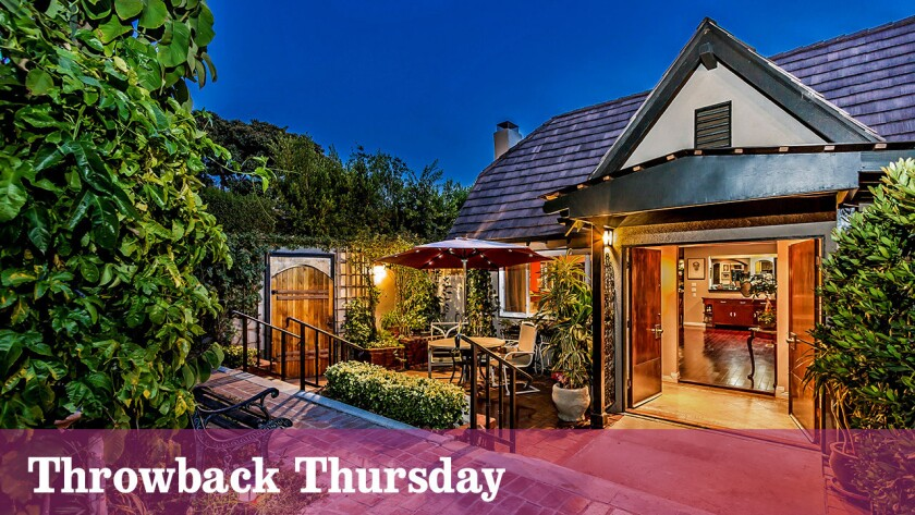 Alex Hassilev of the '60s group the Limeliters sells his WeHo home for $1.9 million. He bought it in 1965 for $44,500.