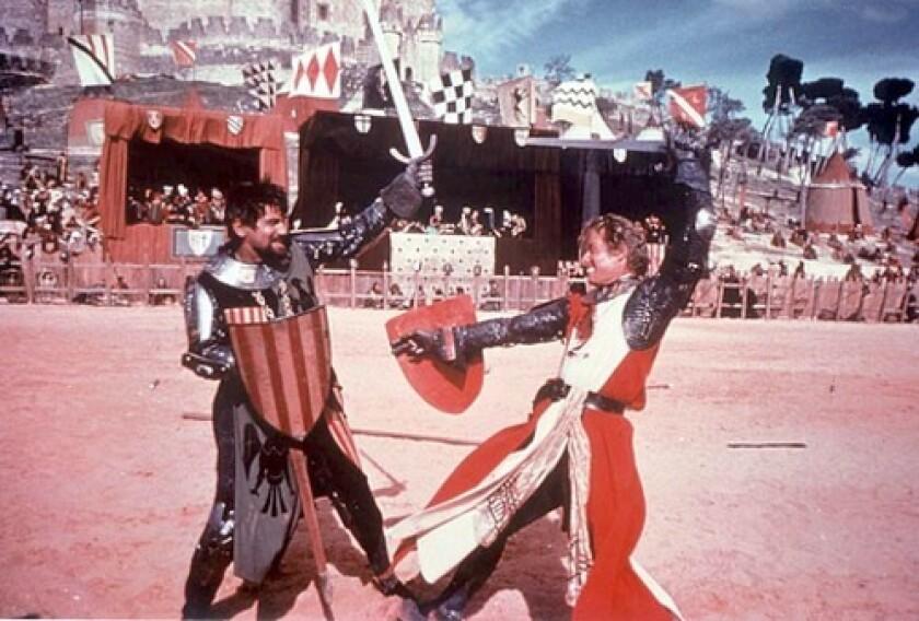 "Charlton Heston in ""El Cid"""