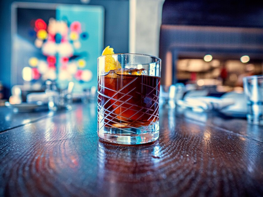 Cold Fashioned is available at Cloak and Petal in Little Italy.
