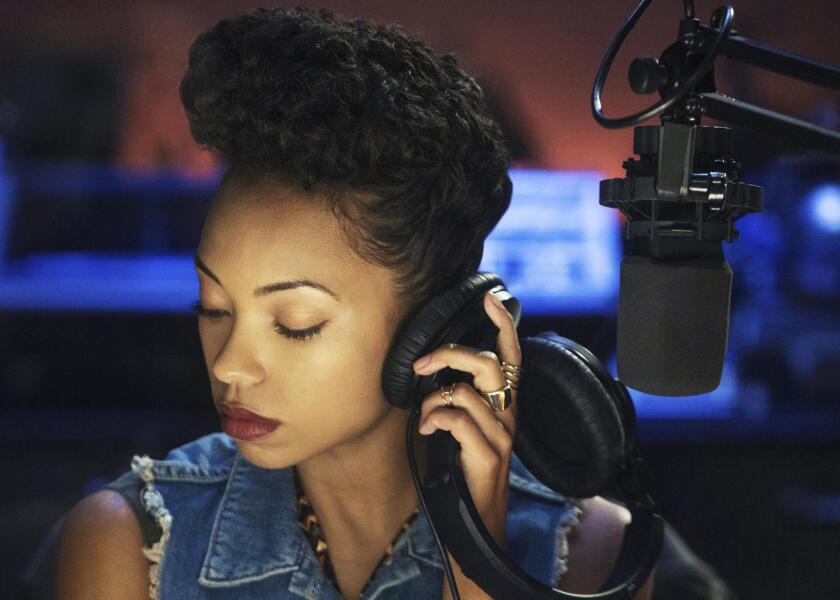 "Logan Browning as Samantha White in Netflix's ""Dear White People."""
