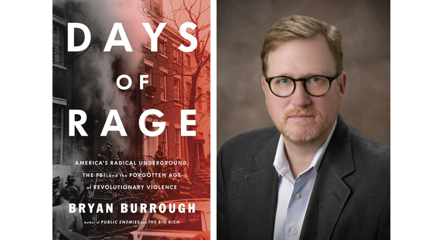 "Cover of the book ""Days of Rage"" by Bryan Burrough"