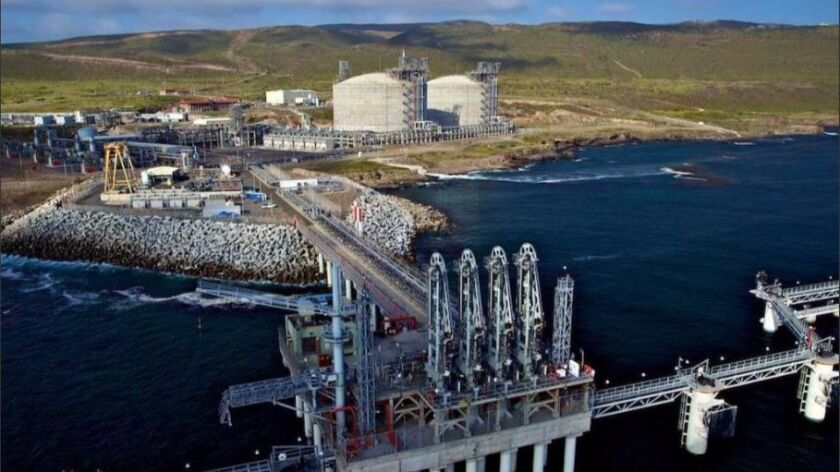 The Energia Costa Azul LNG facility, outside Ensenada, Mexico, which is operated by IEnova.