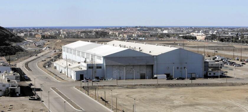 Howard Hughes hangar
