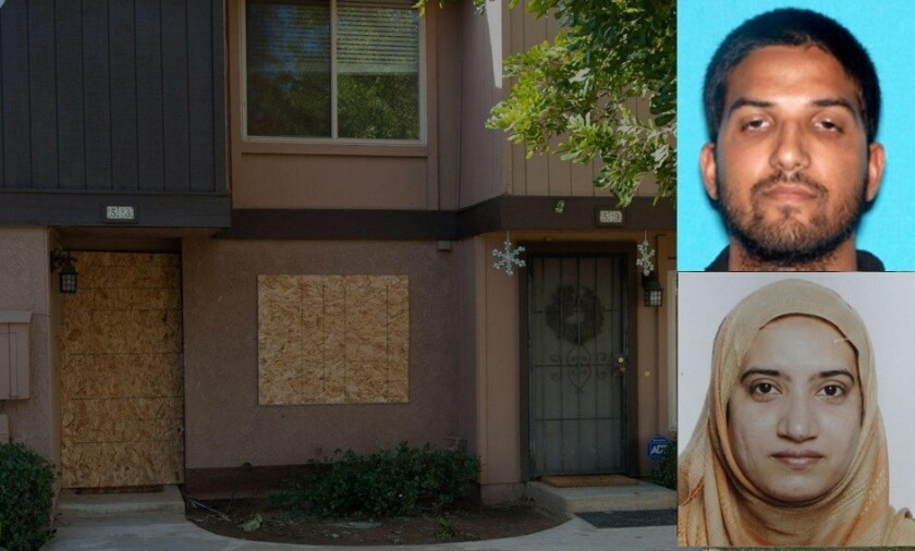 Syed Rizwan Farook and Tashfeen Malik lived at this Redlands' townhome with their infant daughter and his mother.