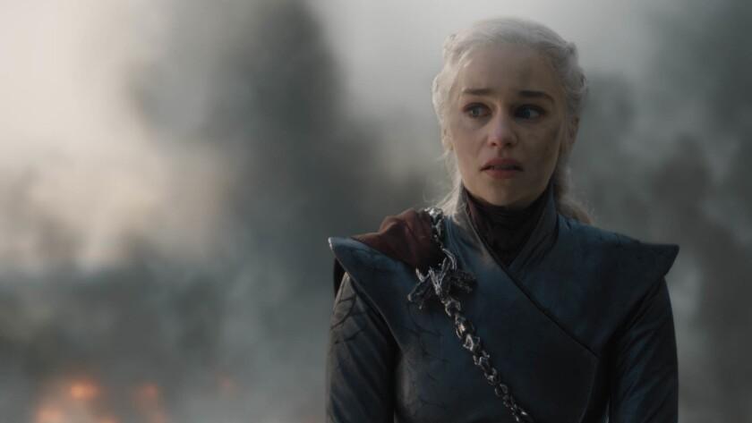 "Emilia Clarke in ""GAME OF THRONES"" Season 8, episode 5 (debut 5/12/19): photo: Helen Sloan/HBO"