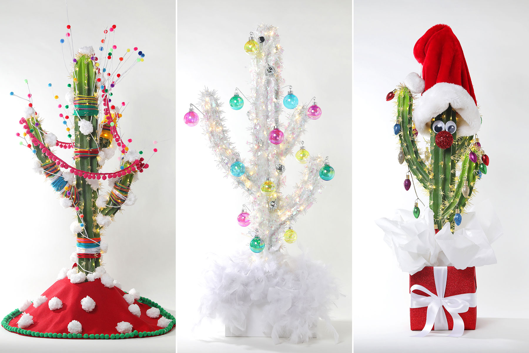 California Chic How To Decorate A Christmas Cactus Los